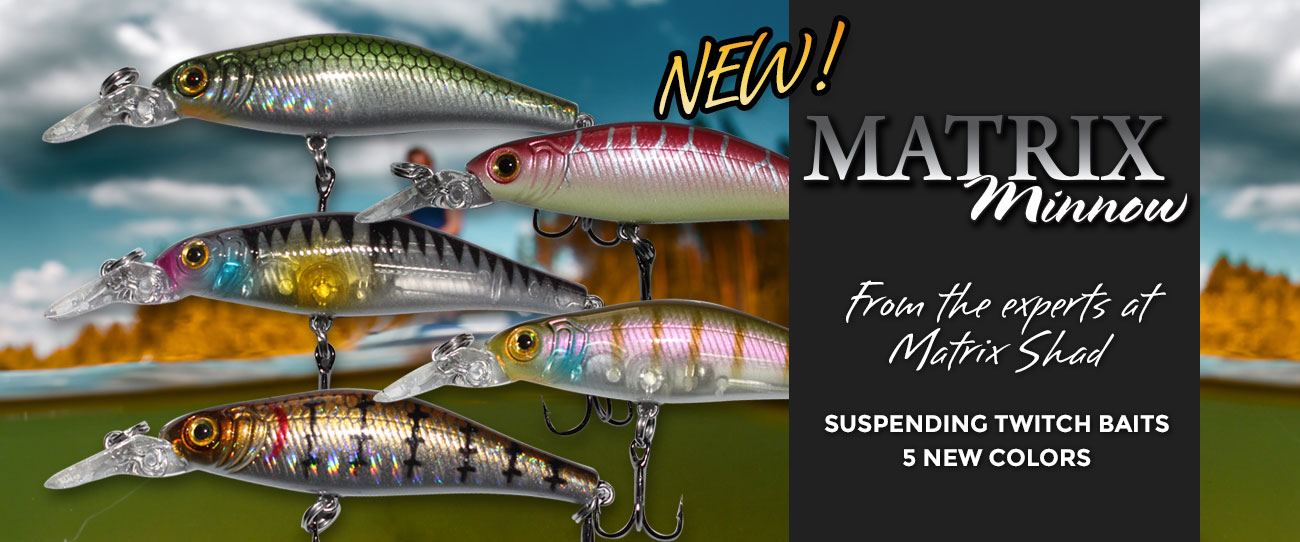Matrix Shad Fishing Lures - Soft Plastic Bait for Trout